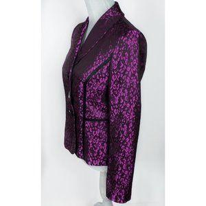 Vintage Purple Leopard Print Hipster Jacket 4